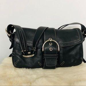 COACH No H05S-3653 Leather Shoulder